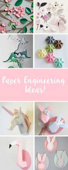 The 175 Best Papercraft Images On Pinterest In 2018 Paper Art