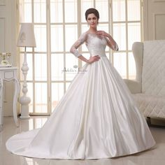 Wedding dress Champagne by Atelier Ivoire