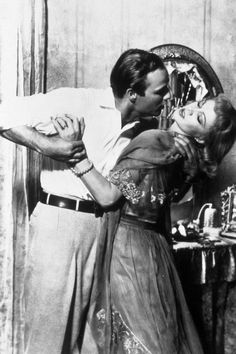 Marlon Brando & Vivien Leigh in A Streetcar Named Desire (I performed this scene in College Drama)