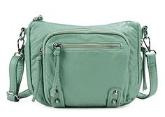 New Trending Cross Body Bags: Scarleton Small Soft Washed Multi Zip Crossbody Bag H178753 - Mint. Scarleton Small Soft Washed Multi Zip Crossbody Bag H178753 – Mint  Special Offer: $19.99  366 Reviews The Scarleton Small Soft Washed Multi Crossbody Bag is a fabulous purse at a great price. This chic design has plenty of organized storage, enough room for your cell phone,...