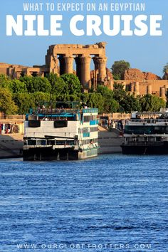 Ever dreamt of cruising the Nile? Here's exactly what you can expect when taking a Nile Cruise with kids, from understanding the different types of ships, to your cabins, meals and importantly the stops you will make along your memorable cruise of the Nile River, Egypt - Luxor to Aswan | Nile Cruise Egypt | Family Cruise | Crusing with Kids | Egypt with Kids Africa Destinations, Travel Destinations, Nile River Cruise, Cruise Europe, Family Cruise, African Countries, Cruise Tips, Luxor, Africa Travel