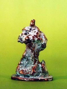 Bronzetto mis: 6.8x4.5x2.5 titolo Nabot