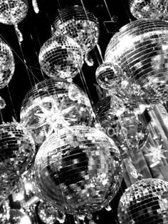 Disco ball on the ceiling~ a need for partying