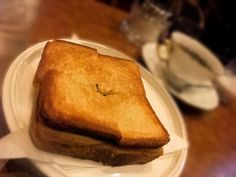珈琲ショパン(淡路町) ショパンは激甘小倉トーストがお好き!? ホットケーキ先生談話室(旧ホットケーキ☆純喫茶りみっくす)