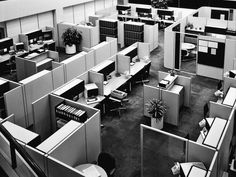 The Cubicle You Call Hell Was Designed to Set You Free | By 1978, this was the sad, cramped evolution of Action Office II. Courtesy of Herman Miller   | WIRED.com