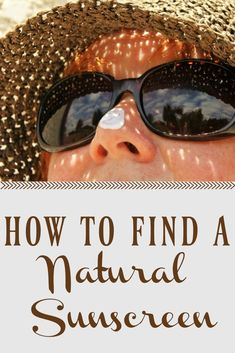 Most sunscreens contain many unsafe ingredinets but it can be tough finding a safe option! Here is how to find a natural sunscreen for a fun, safe summer! Organic Skin Care, Natural Skin Care, Natural Health, Wellness Tips, Health And Wellness, Women's Health, Holistic Wellness, Holistic Remedies, Natural Remedies