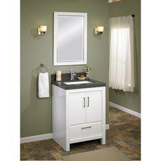 Downstairs bath vanity | roscoe bathroom | Pinterest | Bath vanities on