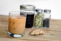 iced ginger chai...I love chai but have a hard time finding a decaf version.  I'm excited to try this out.