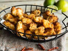 Knusprige Häppchen: Chili-Popcorn-Hähnchen