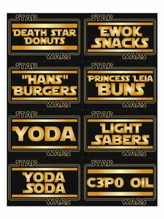free star wars printable - Google Search