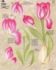 Donna Dewberry Down Free Patterns | Tulip & Iris RTG Worksheet by Donna Dewberry
