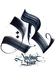 Calligraphy: R designed by Pokras Lampas. Gothic Lettering, Gothic Fonts, Hand Lettering Fonts, Graffiti Lettering, Lettering Styles, Typography Letters, Lettering Design, Lettering Tattoo, Calligraphy R