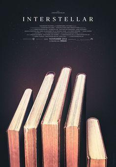 Interstellar Alternative Poster by Michal Krasnopolski