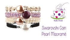 Video Tutorial: Macramé Bracelet with Coin Pearl from Beads Direct on youtube.com