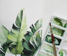 Imagem de art, drawing, and green - Skizzenbücher - kunst Drawing S, Art Drawings, Art And Hobby, Diy Art, Creative, Beautiful Flowers, Garden Design, Plant Leaves, Sculpture