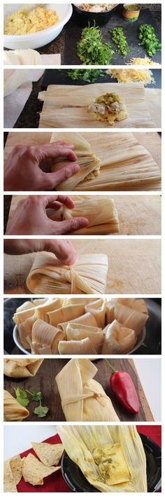 How to Make Homemade Tamales. I need to try making these this winter