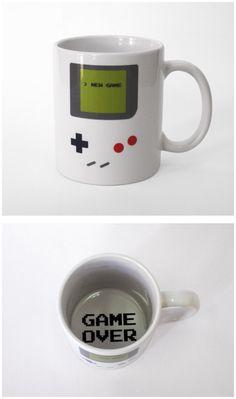 nintendo GameBoy mug cup