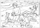 Kids Activiteis-  Summer colouring pages.