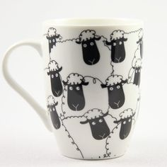 Wacky Woollies Black Sheep Mug in Gifts & Jewelry at Webs