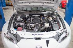 A Mazda Miata ... with a V-8?? http://www.motortrend.com/news/flyin-miata-ready-to-convert-your-2016-mazda-miata-to-v-8-power/