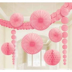 Large Pink Decorating Kit that includes everything you see! Only $14.60 in Kara's Party Shop KarasPartyIdeas.com/Shop