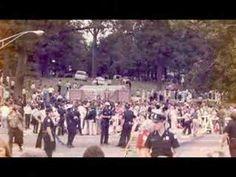 "Images of Elvis' funeral (Elvis singing ""It's Over"") via youtube."