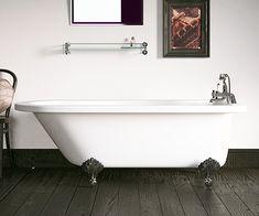 Edwardian Freestanding Roll Top Bath 1700 x - scene square medium Small Freestanding Bath, P Shaped Bath, Bathroom Showrooms, Roll Top Bath, Old Bathrooms, L Shape, Clawfoot Bathtub, Scene, Shower