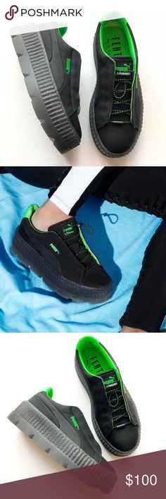 nib   Fenty Puma Cleated Creeper Sneakers NIB Fenty Puma Cleated Creeper  Sneakers in Black a7f2d17f4