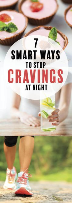 7 Smart Ways to Stop Cravings at Night, end emotional eating, and stop sugar addiction to restore health n- sounds great, right? Stop Sugar Cravings, How To Stop Cravings, Food Cravings, Smoothie Detox, Smoothies, Stop Sugar Addiction, Stop Eating Sugar, Junk Food Snacks, Eating At Night