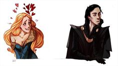 Another interpretation of Sigyn and Loki