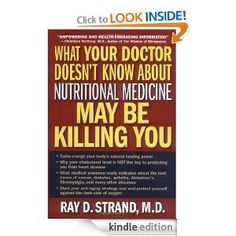 When Dr. Ray Strand found himself in a losing battle, unable to successfully treat his wife who had suffered chronically with pain and fatigue, he agreed to try the regimen of nutritional supplements that a neighbor suggested. Much to his surprise, his wife's condition began to improve almost immediately. That amazing turn of events led him to dedicate himself to researching alternative therapies in medicine, particularly in the arena of nutritional supplements.