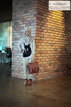 #cekidaut this spirited and beautiful hijabsters, Sue Anna Joe