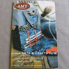 Amy Butler ultimate arts and crafts tote Country Living sewing pattern