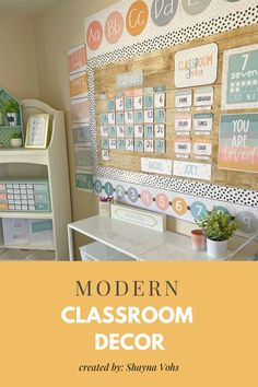 Elementary Classroom Themes, Preschool Classroom Decor, Modern Classroom, Classroom Layout, Classroom Organisation, Middle School Classroom, First Grade Classroom, New Classroom, Classroom Design