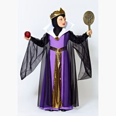 Disfraz de Madrastra de Blancanieves para Niña. Disfraces Para Niñas. www.disfracesgamar.com