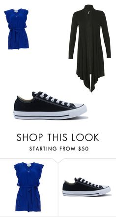 """""""Adventures in Diagon Alley"""" by crabbies on Polyvore featuring Converse and Izabel London"""