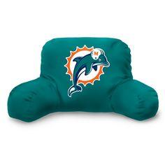 Miami Dolphins NFL Bedrest Pillow