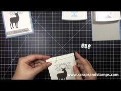 Stampin' Up! Tutorial - 2012 Christmas Series #16 - Scraps & Stamps