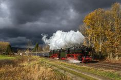 Passenger Special with 2 german Pacifics: 01 150 and 01 202