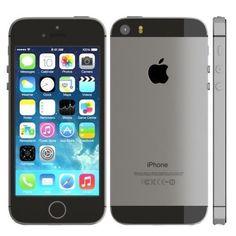 Apple iPhone 5s - 16GB - Space Gray GSM WorldWide Unlocked Smartphone 4G LTE #ad