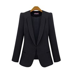 New Trending Outerwear: Rbspt Womens Casual Basic Work Office Tuxedo Blazer Boyfriend Jacket Black 4X. Rbspt Womens Casual Basic Work Office Tuxedo Blazer Boyfriend Jacket Black 4X  Special Offer: $32.99  144 Reviews *Asia Sizing . We have transferred Asian size to US size,pls ignore tag size when you receive the item.Please check measurements before purchasing to ensure best size* US...