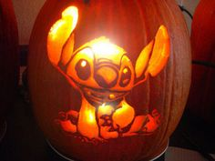 Free Pumpkin Carving Patterns Stitch – Yahoo Image Search Results Free Pattern Pumpkin Carving Patterns – Yahoo Image Search Results Disney Pumpkin Carving, Pumkin Carving, Pumpkin Carving Patterns, Carving Pumpkins, Halloween Pumpkins, Halloween Crafts, Halloween Decorations, Halloween Stuff, Halloween Stencils