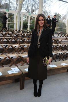 Неделя моды в Лондоне: гости Burberry Prorsum (фото 2)