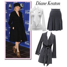 We love Diane Keaton's ageless style because she marches to her own drum...much like the wily flow of the Take Charge Jacket! We love it paired back to the Take a Bow Blouse and Vogue Skirt!