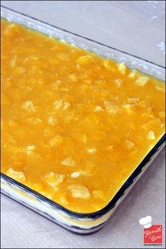 Portakal Soslu Sütlü Tatlı   Yemek Cini