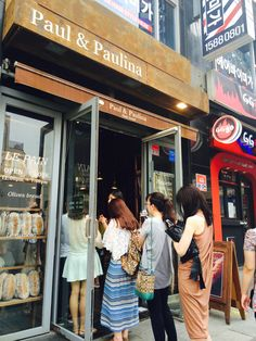 Paul and Paulina Bakery @ Hongdae Seoul