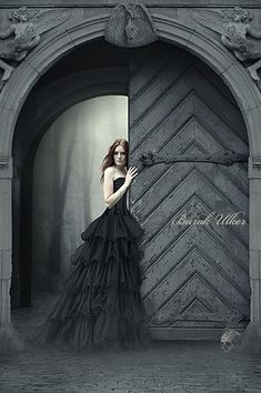 This dress would be sonfun to wear...Dark Photo Manipulations by Burak Ulker