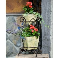 Wrought Iron 2-Tier Garden Stand  $161.95
