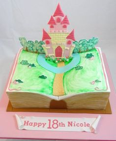 Pop-up Storybook Cake - Fairytale Castle by Cakeage