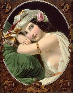 "Constant Joseph Brochart (1816-1899) ""La Perle du Harem"" | Flickr - Photo Sharing!"